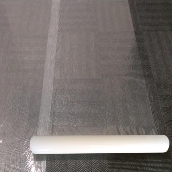 Carpet Plastic Protection Film Self Adhesive 1m X 100m